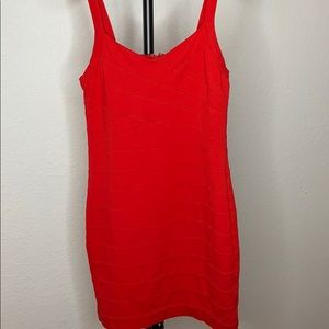 Dress red mini M